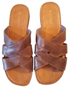 Naturalizer Risco Wedge Brown Light brown Sandals