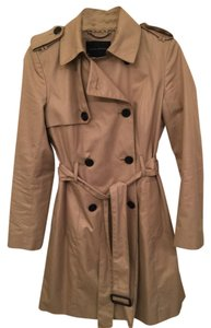 Banana Republic Trench Rain Double Breasted Beige Trench Coat