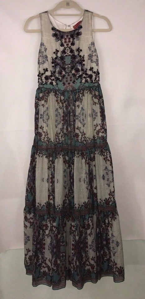 a829a2cfa7eb Anthropologie Madera Maxi By Bhanuni Long Night Out Dress Size 4 (S ...