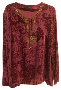 ECI New York Bohemian Vintage Antique Beaded Tunic