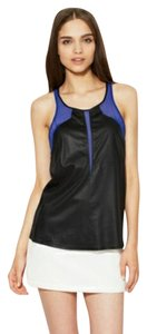 Helmut Lang Chiffon Inset Color-blocking Top
