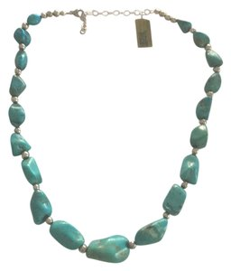 Other Sterling Silver Turquoise Necklace