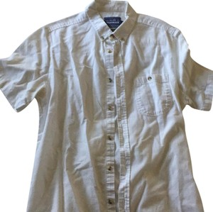 Topman Button Down Shirt White