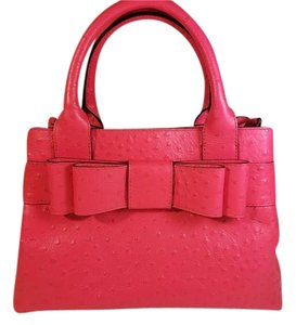 Kate Spade Leather Bow Tote in Pink