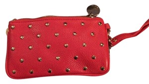 deux lux Wristlet in Orange And Gold