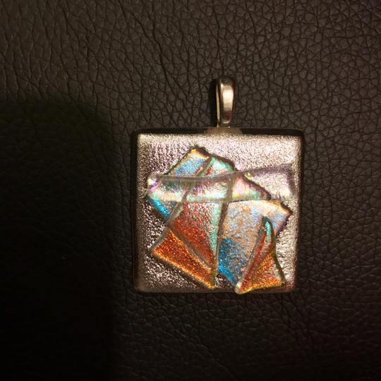 Other Dichroic Fused Glass Pendant Image 1