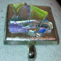Other Dichroic Fused Glass Pendant Image 2
