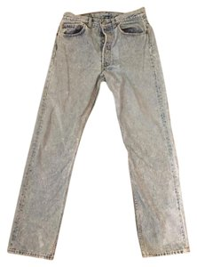 Levi's 90s Vintage Distressed Boyfriend Cut Jeans-Acid