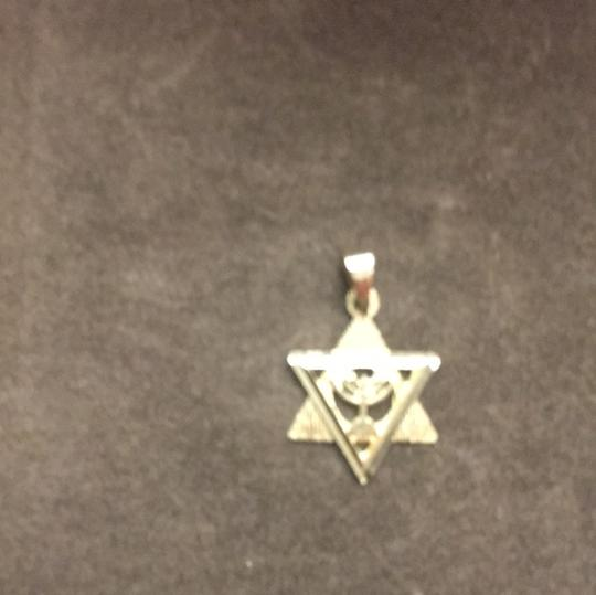 14k Gold Star of David Charm Image 2