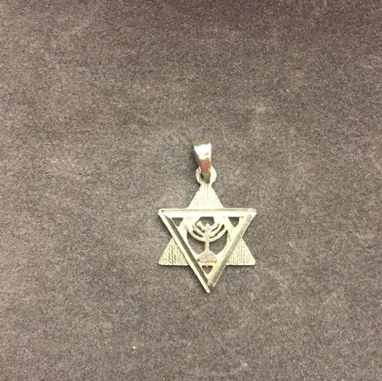 14k Gold Star of David Charm Image 3
