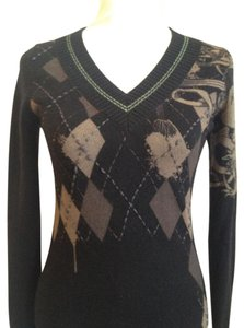Raw 7 100% Cashmere Edgy Wool Sweater