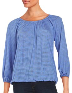 Michael Kors Knit Top Light Blue