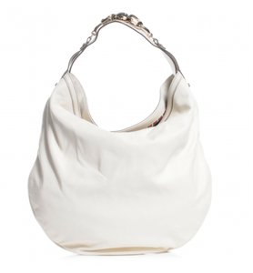 Gucci Horse Bit Leather Hobo Bag
