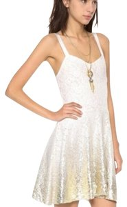 Free People short dress Ivory New With Tags on Tradesy