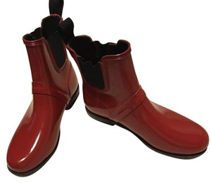 Cole Haan Red Boots