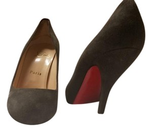 Christian Louboutin Dark Grey Pumps