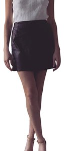 Express Mini Skirt Dark brown