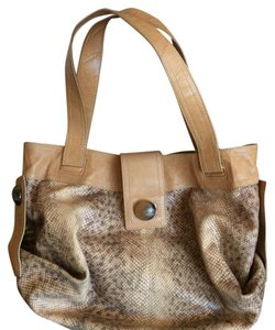 Kooba Embossed Leather Hobo Bag