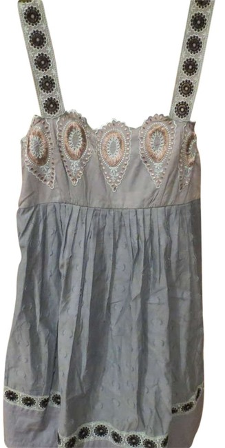 Preload https://item3.tradesy.com/images/bcbgmaxazria-baby-blue-and-black-runway-knee-length-short-casual-dress-size-2-xs-202322-0-0.jpg?width=400&height=650