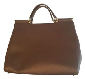 Dolce&Gabbana Dolce & Gabbana Dolce D&g Like New Miss Sicily Tote in Brown