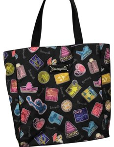 Betseyville Tote in Black/ Multi Color
