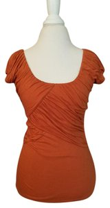 Anthropologie T Shirt dark orange