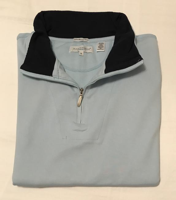 Alex Cannon Alex Cannon Mens Light Blue Pullover Image 2
