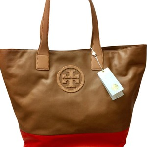 Tory Burch Tote in Brown/Orange