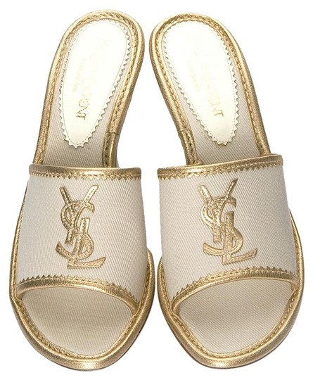 Saint Laurent Heels Ysl Yves Tom Ford Slides Mules