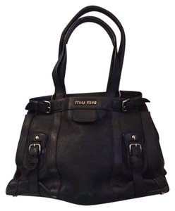 Miu Miu Logo Shoulder Bag