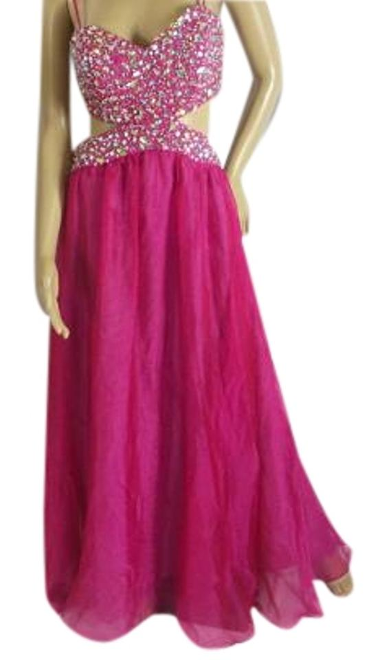 Decode 1.8 Pink Prom Long Formal Dress Size 6 (S) - Tradesy