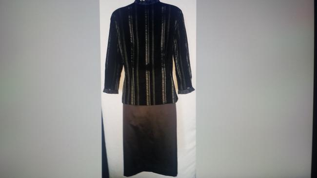 Doncaster New Doncaster special occasion Blouse and Skirt virgin wool Image 2