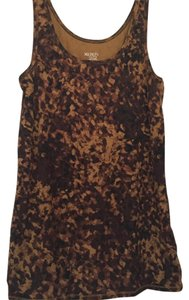 Merona Evening Top Gold Brown