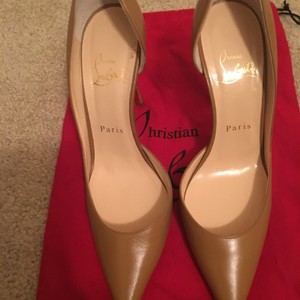 Christian Louboutin Tan Blush #3 Pumps