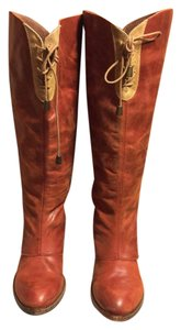 Holding Horses Brown/Mustard-Tan Boots