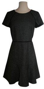 J.Crew short dress Black Heather Grey on Tradesy