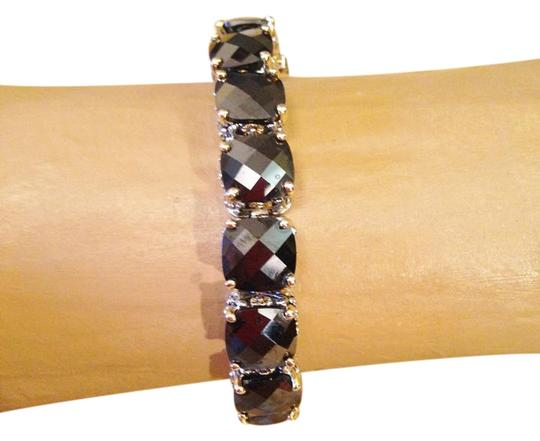 Other Gorgeous oversize Oynx crystal tennis bracelet-sale! Image 1