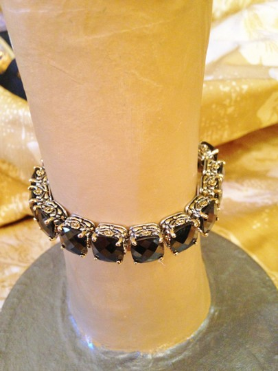 Other Gorgeous oversize Oynx crystal tennis bracelet-sale! Image 3