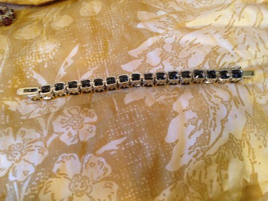 Other Gorgeous oversize Oynx crystal tennis bracelet-sale! Image 5