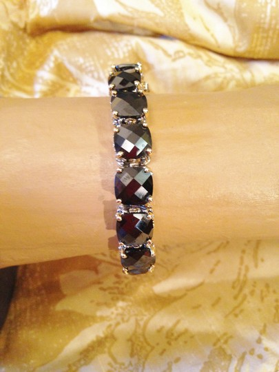 Other Gorgeous oversize Oynx crystal tennis bracelet-sale! Image 7