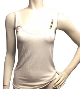 BCBGeneration Top White,silver gold