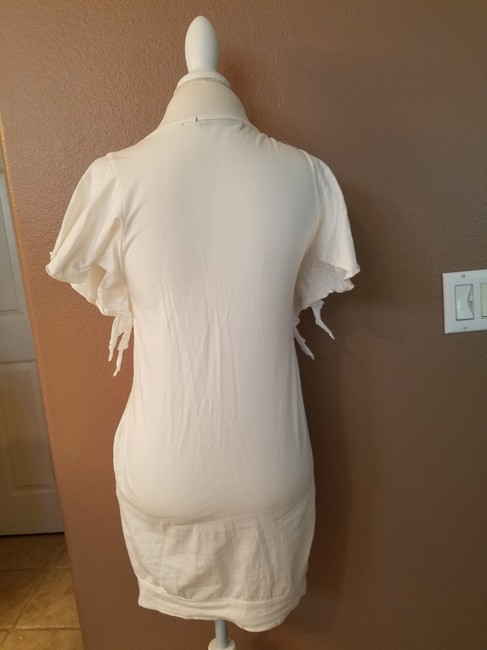 Other short dress white Sequence Ruffle Imported on Tradesy Image 4