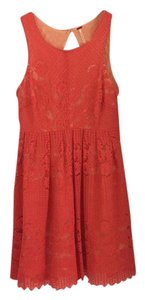 Free People short dress Pink on Tradesy