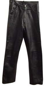 Other Soft Italy Straight Pants black