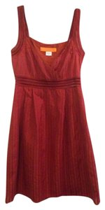 Cynthia Steffe short dress Reddish Orange on Tradesy
