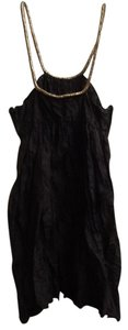 Calypso St. Barth short dress Black Silk Mini on Tradesy