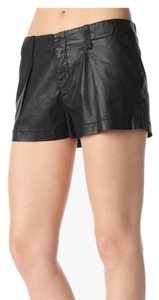 7 For All Mankind Mini/Short Shorts Black