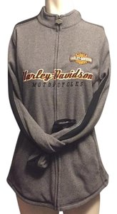Harley Davidson Gray black orange Jacket