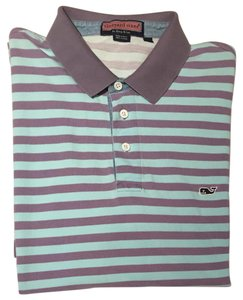 Vineyard Vines Mens Mens Mens Polo Shirt Striped Polo Shirt Polo Button Down Shirt Blue