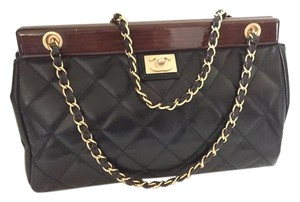 Chanel 2.55 Quilted Flap Vintage Gold Shoulder Bag
